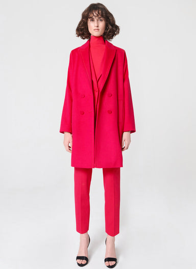 Cocooning wool coat - ESCADA