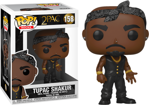 2 PAC FUNKO POP FIGURE #158