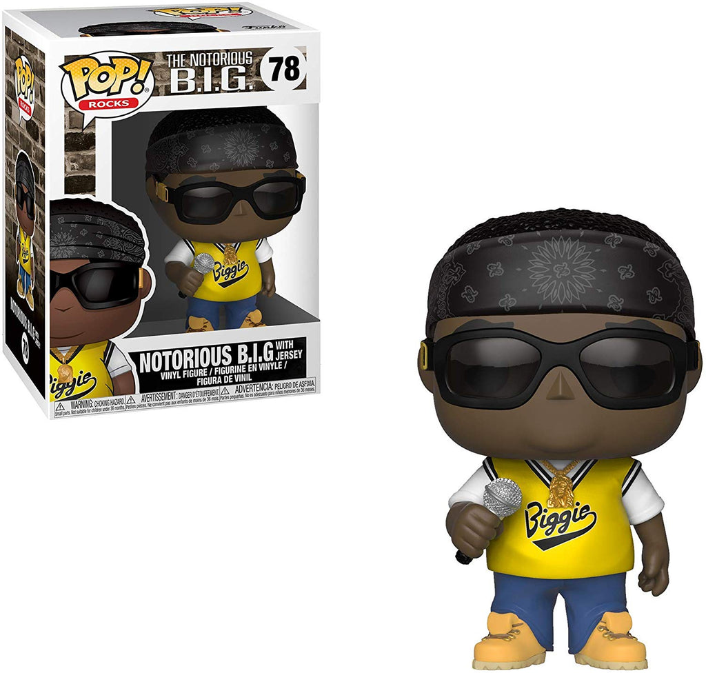 NOTORIOUS B.I.G. FUNKO POP FIGURE #78