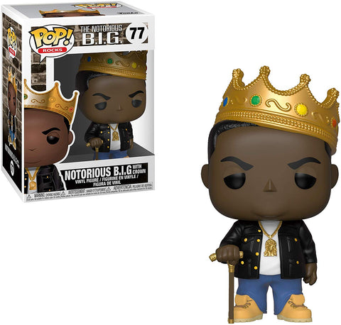 NOTORIOUS B.I.G. FUNKO POP FIGURE #77