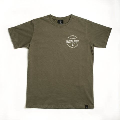 "A.H.B. KHAKI ""BCT INTERNATIONAL"" T-SHIRT COD:003-125-023"