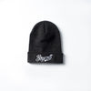 "A.H.B. DARK GREY ""CALIGRAPHY"" BEANIE COD:030-042-008"