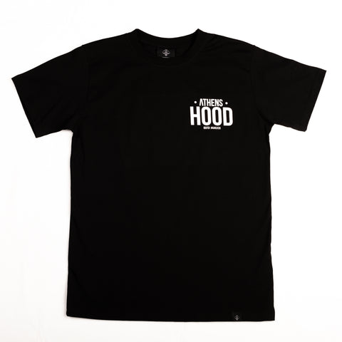 "A.H.B. BLACK ""MADE IN STREETS"" T-SHIRT COD:003-187-003"