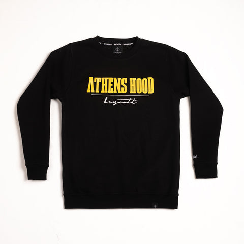 "A.H.B. BLACK ""RETRO"" CREWNECK COD:002-179-003"