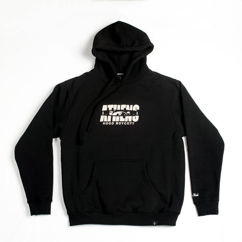 "A.H.B. BLACK ""ROTTS ARE EVERYWHERE"" HOODIE COD:001-180-003"