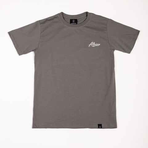 "A.H.B. DARK GREY T-SHIRT ""ATHENS"" COD : 003-212-009"