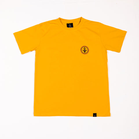 "A.H.B. MUSTARD T-SHIRT ""RISE TO FIGHT"" COD : 003-213-028"
