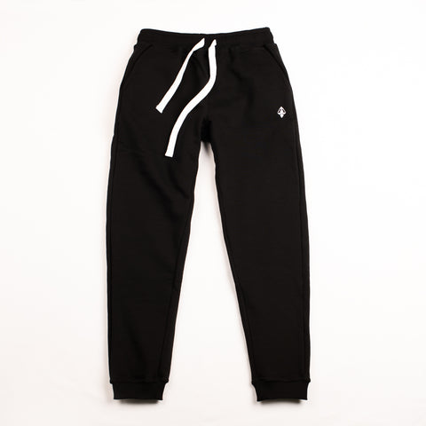 "A.H.B. BLACK ""LOGO"" PANTS COD : 080-235-003"