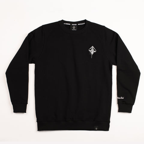 "A.H.B. BLACK ""DAVID OF MICHELANGELO"" CREWNECK COD : 002-231-003"