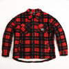 "A.H.B. BLK/RED ""AHBCT"" FLEECE JACKET"
