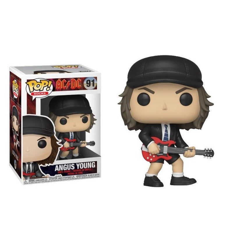 "ANGUS YOUNG ""AC/DC""FUNKO POP FIGURE #91"
