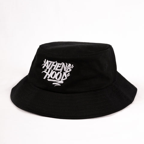 "A.H.B. BLACK ""ATHENS HOOD""  BUCKET HAT"