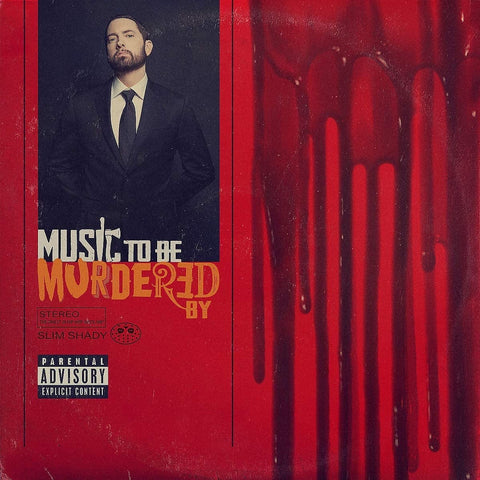 "Eminem ""Music To Be Murdered"" LP Black Edition"