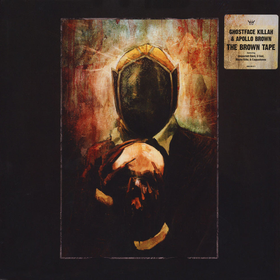 "Ghostface Killah & Apollo Brown ""Twelve Reasons To Die : The Brown Tape"" Black Vinyl Edition"