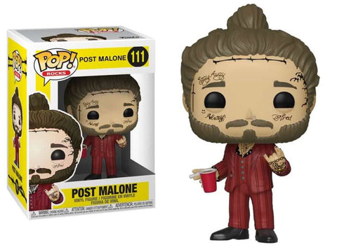 POST MALONE FUNKO POP FIGURE #111