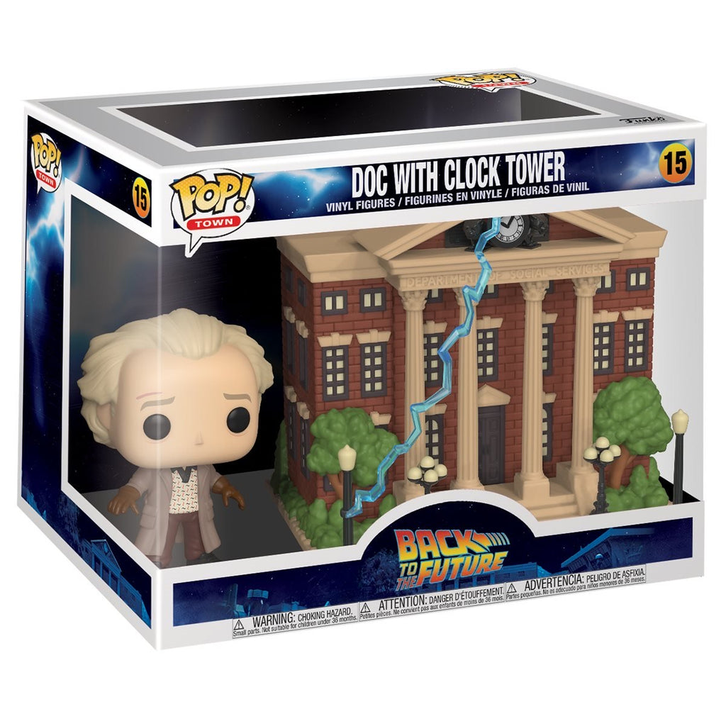 Funko Pop! Town: Back to the Future - Dock With Clock Tower #15 Vinyl Figure