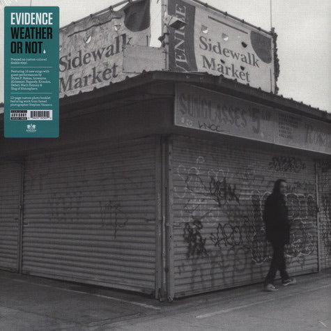 "Evidence ""Weather or Not"" 2LP Colored Edition"