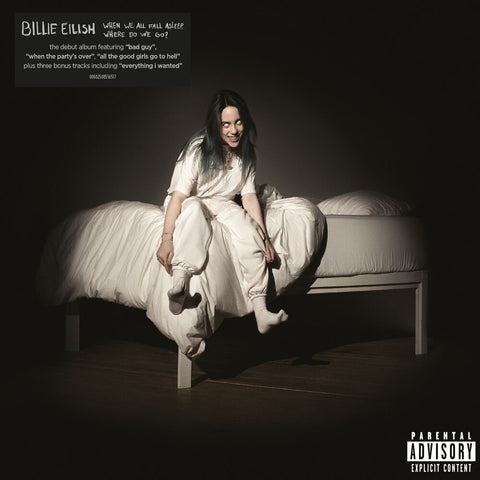 Billie Eilish When We All Fall Asleep, Where Do We Go?  Vinyl LP