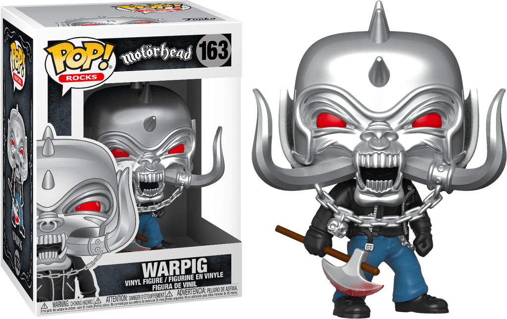 "WARPIG ""MOTÖRHEAD"" FUNKO POP FIGURE  #163"