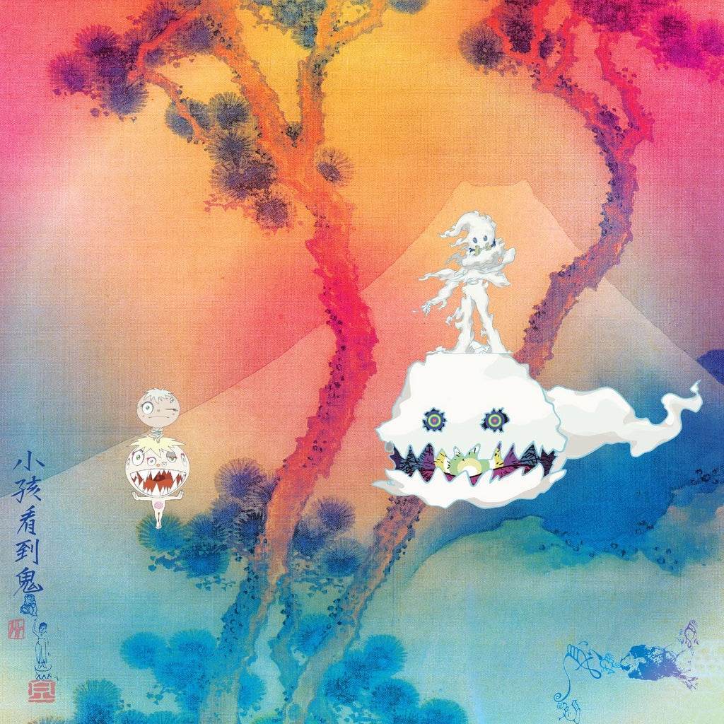"Kanye West & Kid Cudi ""Kids See Ghosts"" LP"