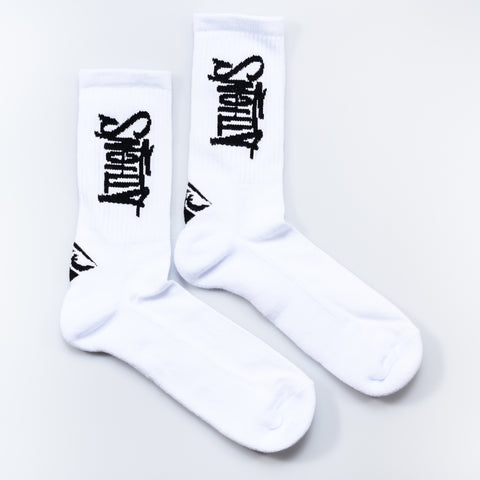 "A.H.B. WHITE ""ATHENS TAG"" SOCKS"