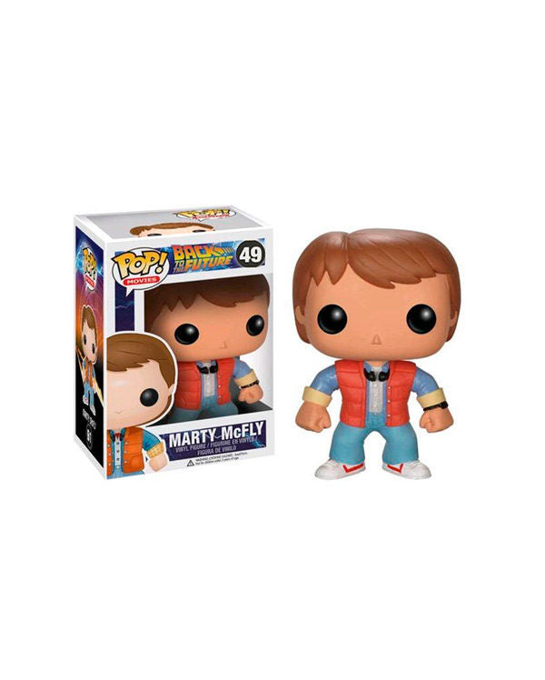 "MARTY McFLY ""BACK TO FUTURE"" FUNKO POP FIGURE #49"