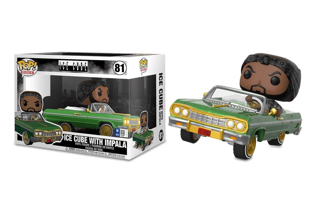 ICE CUBE WITH IMPALA FUNKO POP FIGURE #81