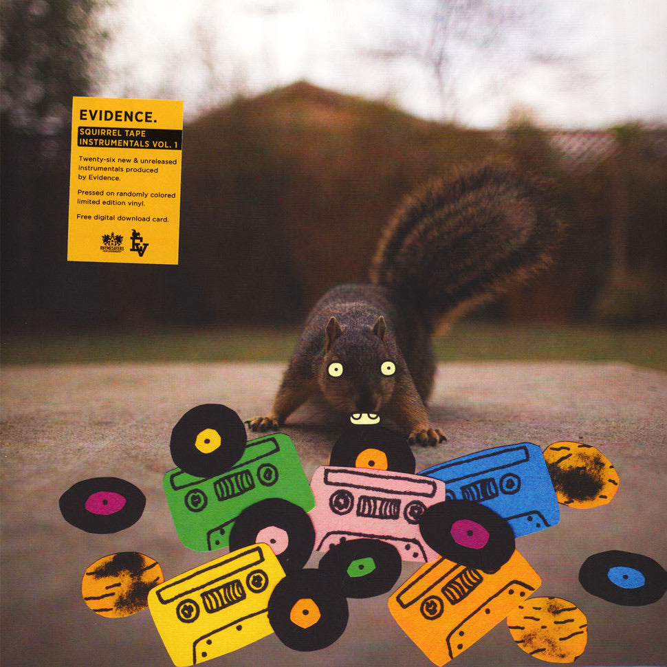 "Evidence ""Squirrel Tape Instrumentals"" LP"