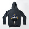 "A.H.B. DARK GREY ""SEAN P MY FAVORITE RAPPERS ARE DEAD"" HOODIE LIMITED EDITION COD:001-099-017"