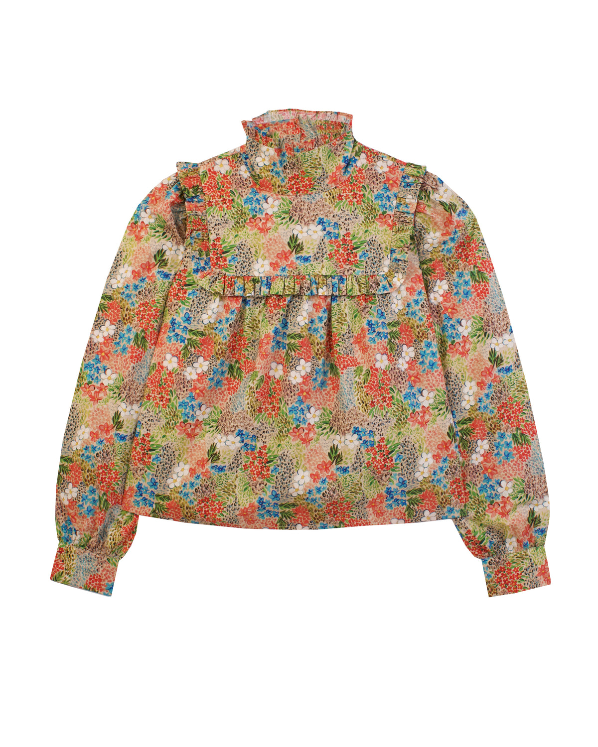 Heather Top, Winter Floral