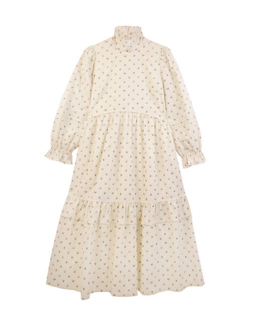Lucerne Dress Winter Ditsy