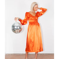 Nadine Dress Orange