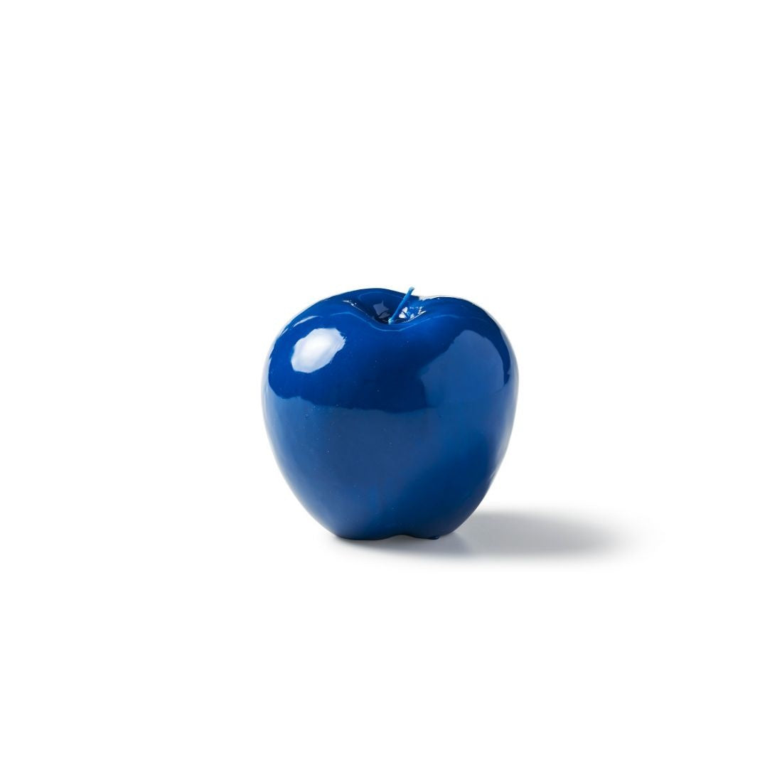 Apple Candle, Dark Blue