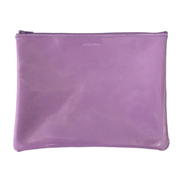 Patent Zip Large, Lilac