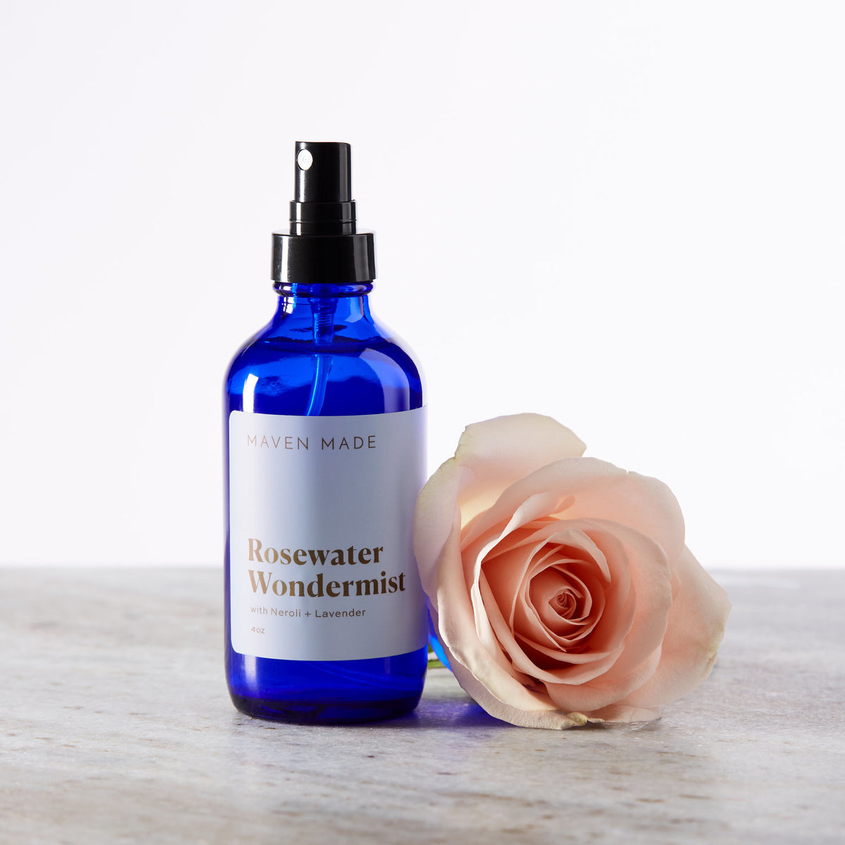 Rosewater Face + Body Wondermist