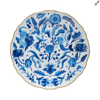 All-Over Dinner Plate, Blue