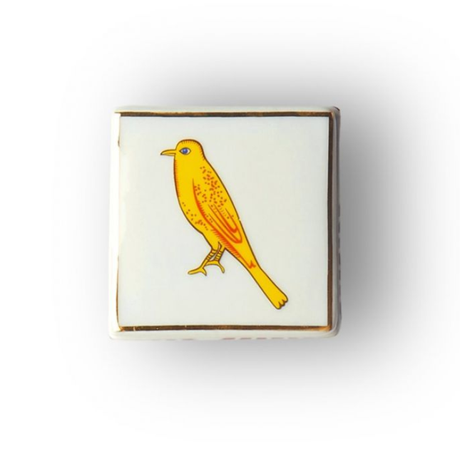 Little Bird Square Box