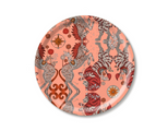 Caspian Coral Round Tray