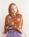 Lucero Sweater, Rust & Blue