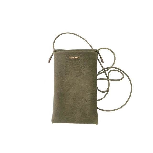 Tia Crossbody Phone Pouch, Olive