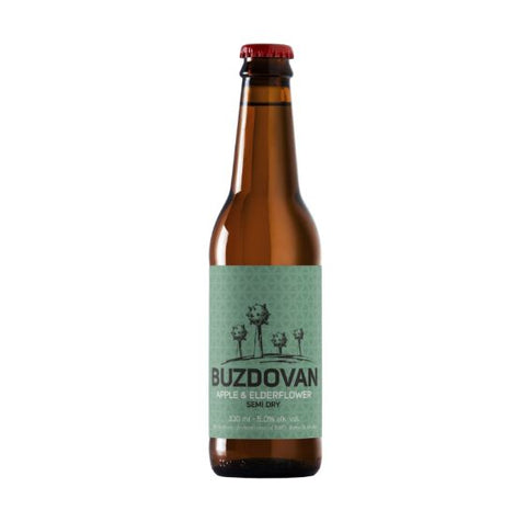 BUZDOVAN Apple & Elderflower