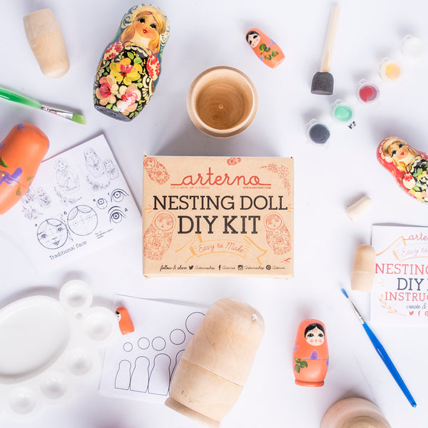 DIY Nesting Matryoshka | Russian Doll Kit | Craft Gift