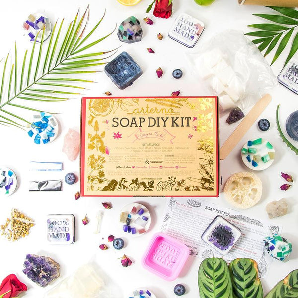 DIY Kit Organic Soap | Gift Craft Box