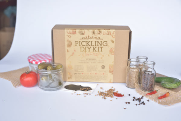 DIY Pickling Kit Craft Gift Box