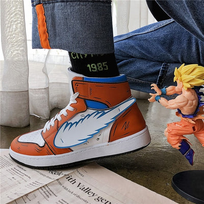 Custom Dragon Ball Z Son Goku Shoes