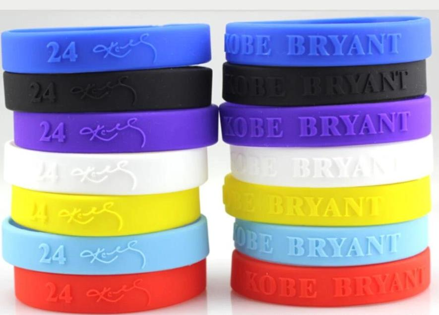 Custom KOBE BRYANT Wristbands.