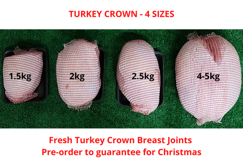 Turkey Crown - 4 size options