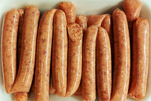 American Style Beef Sausages