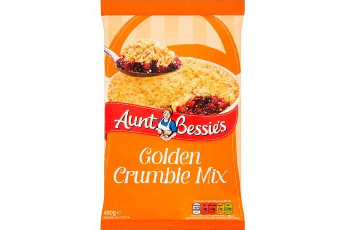 Aunt Bessies Golden Crumble Mix