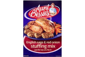 Aunt Bessie's Sage and Red Onion Stuffing Mix